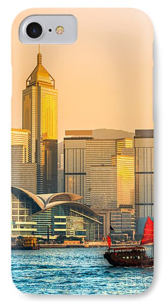 Hong Kong. IPhone Case by Luciano Mortula