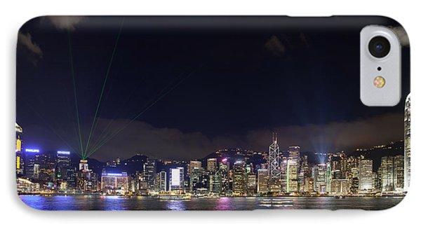 Hong Kong Symphony Of Lights Show IPhone Case