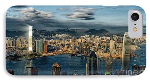 Hong Kong Victoria Bay IPhone Case