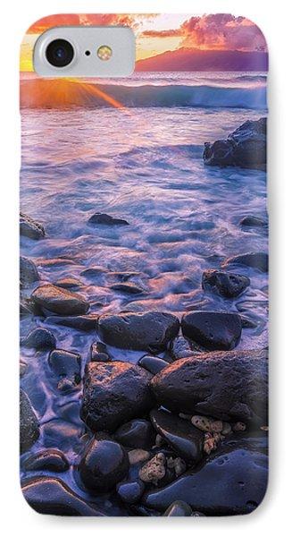 Honolua Sunset IPhone Case by Hawaii  Fine Art Photography