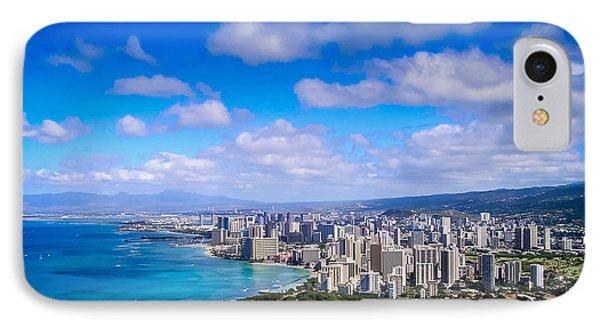 Honolulu Hawaii Phone Case by Richard Brown