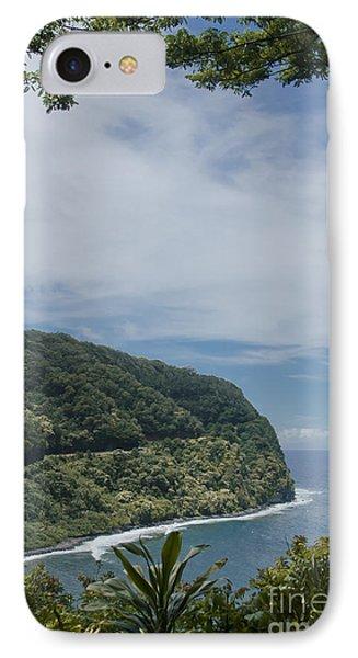 Honomanu - Highway To Heaven - Road To Hana Maui Hawaii Phone Case by Sharon Mau