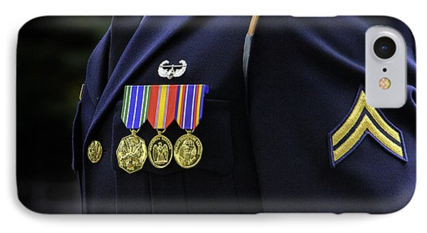 Honor Guard IPhone Case by Jerry Fornarotto