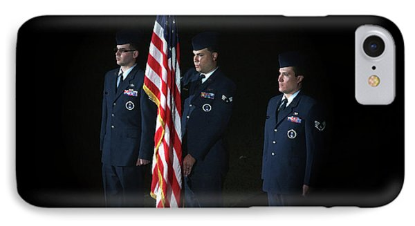 Honor Guard Phone Case by Karol Livote