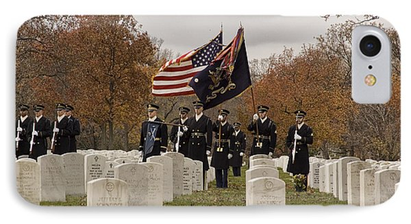 Honor Guard IPhone Case by Terry Rowe