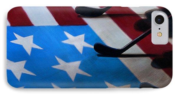 Honoring America Phone Case by Marlon Huynh