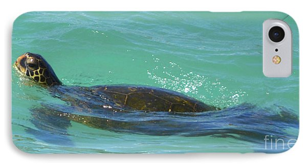 Honu II IPhone Case by Suzette Kallen