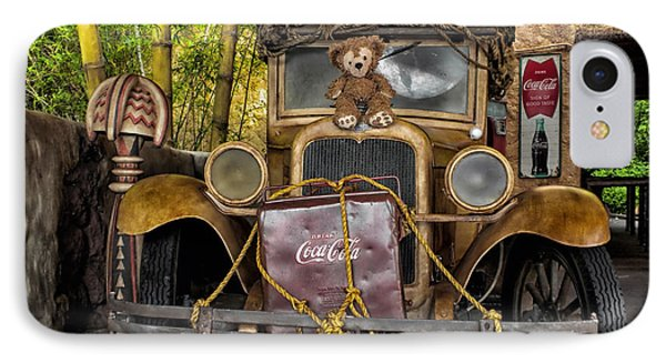 Hood Ornament Bear 2 Phone Case by Thomas Woolworth
