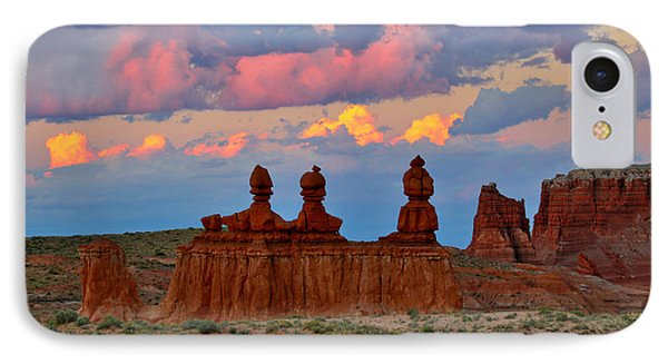 Hoodoo Storm IPhone Case by Marty Fancy