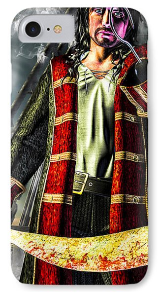 Hook Pirate Extraordinaire Phone Case by Bob Orsillo