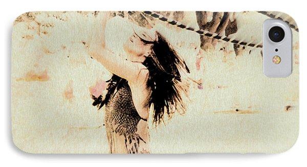 Hoop Dancer  IPhone Case by Kathy Bassett