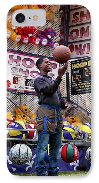 Hoop Shots Phone Case by Rory Sagner