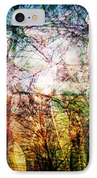IPhone Case featuring the mixed media Hoosier Country Opus 1 by Sandy MacGowan