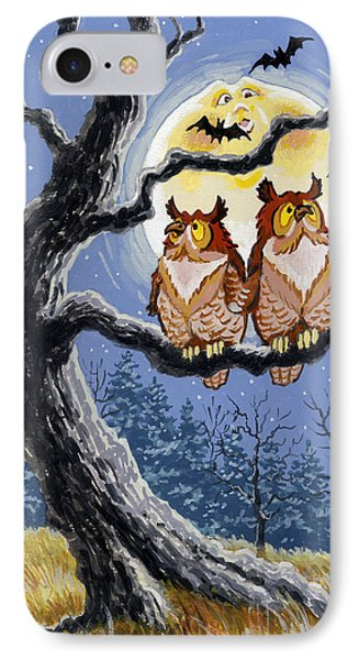 Hooty Whos There Phone Case by Richard De Wolfe