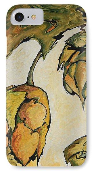 Hop Harvest Phone Case by Alexandra Ortiz de Fargher