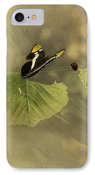 Hop On My Back My Lady And We Will Fly Far Far Away IPhone Case by Diane Schuster