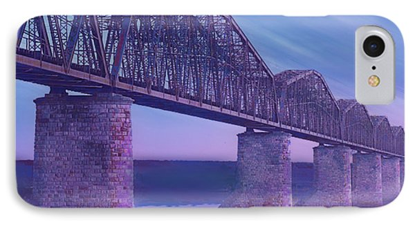 Hope Bridge Soft IPhone Case by Tony Rubino