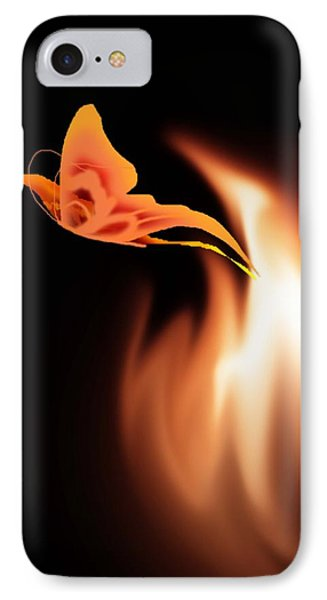 Hope Is The Flame IPhone Case