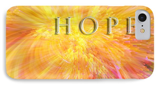 Hope IPhone Case by Margie Chapman