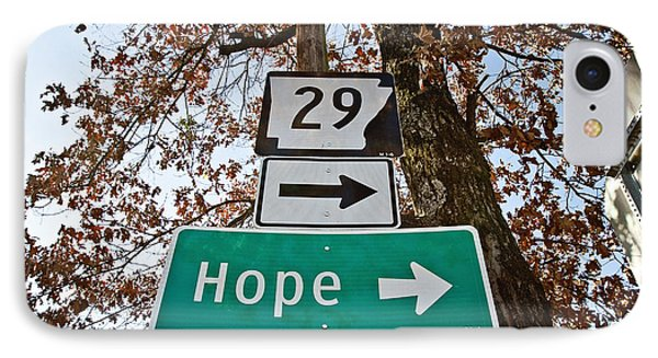 Hope Phone Case by Scott Pellegrin