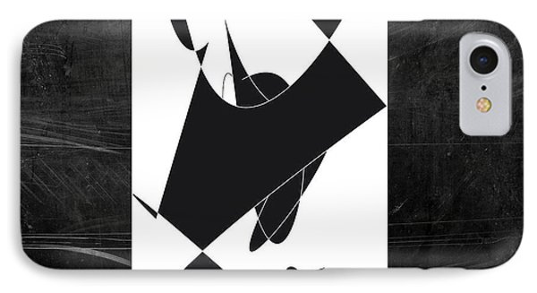 IPhone Case featuring the digital art Hopposites by Karo Evans