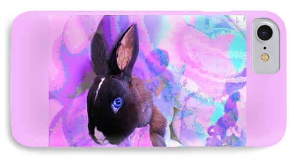 Hoppy Easter IPhone Case by Mike Breau