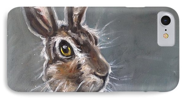 Horatio Hare IPhone Case by Louise  Brown