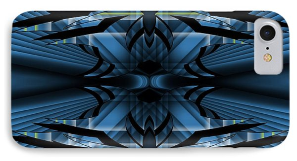 IPhone Case featuring the digital art Horizons Past 1 by Brian Johnson