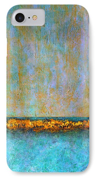 IPhone Case featuring the painting Horizontal Reef by Jim Whalen