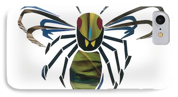 Hornet IPhone Case by Earl ContehMorgan