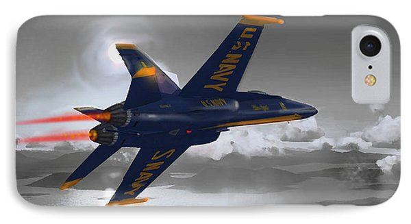 Hornet - F18 IPhone Case by Marcello Cicchini
