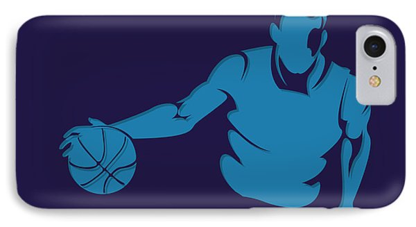 Hornets Shadow Player1 IPhone Case by Joe Hamilton