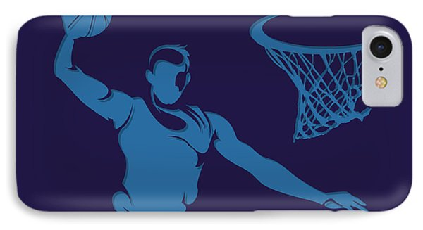 Hornets Shadow Player2 IPhone Case by Joe Hamilton