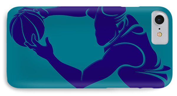 Hornets Shadow Player3 IPhone Case by Joe Hamilton