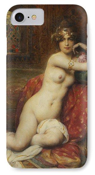 Hors Concours Femme D'orient IPhone Case by Henri Adrien Tanoux