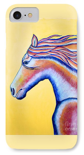 IPhone Case featuring the painting Horse 1 by Joseph J Stevens