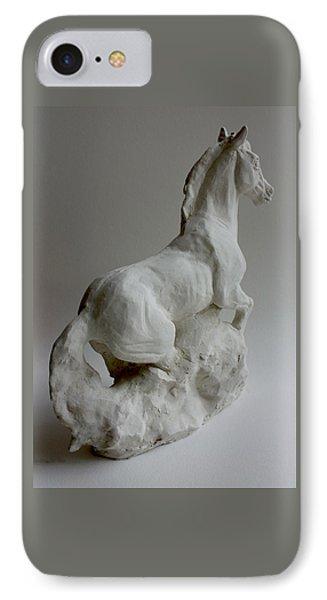 Horse 2 Phone Case by Derrick Higgins