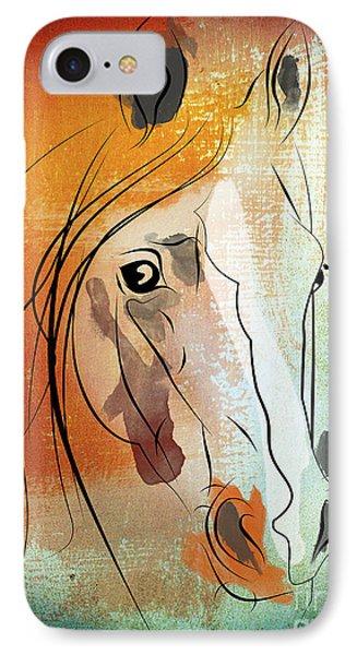 Horse 3 IPhone Case