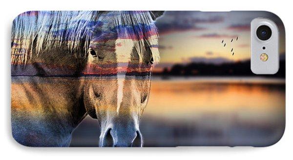 Horse 6 IPhone Case by Mark Ashkenazi