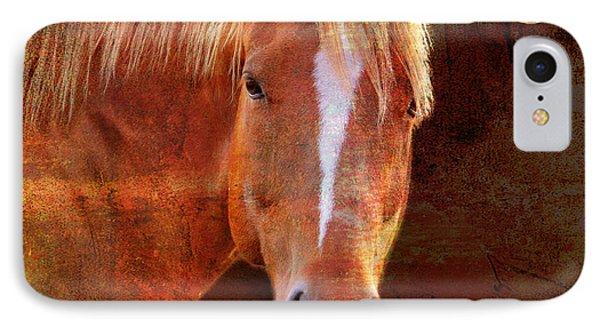 Horse 7 IPhone Case by Mark Ashkenazi