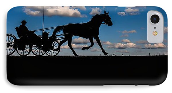 Horse And Buggy Mennonite IPhone Case