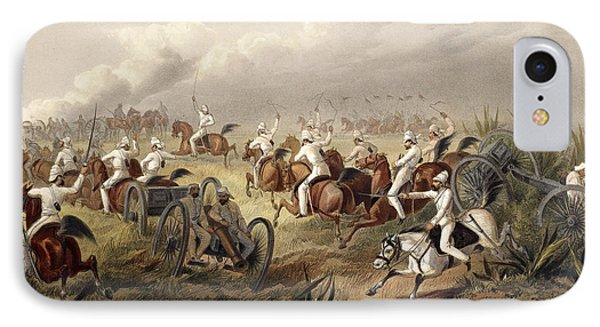 Horse Artillery In Action IPhone Case
