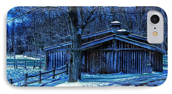 Horse Barn IPhone Case by Skip Tribby
