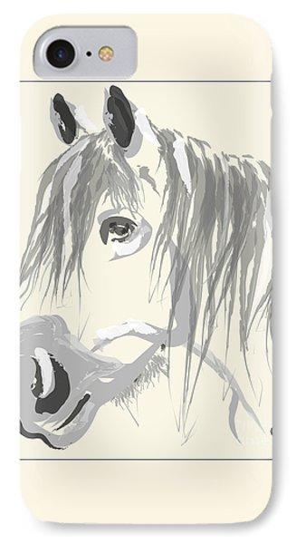 Horse- Big Jack Phone Case by Go Van Kampen