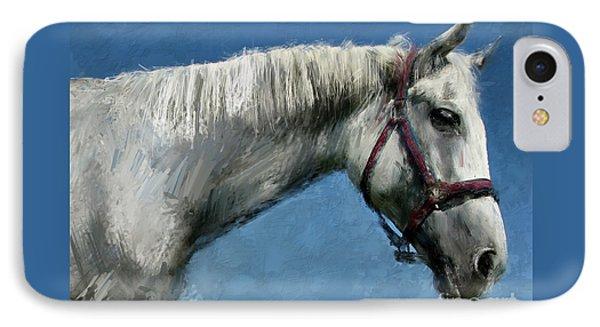 Horse  Phone Case by Daliana Pacuraru