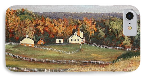Horse Farm IPhone Case by Alan Mager