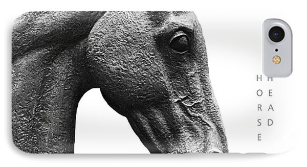 Horse Head 1 IPhone Case by David Davies