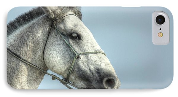 IPhone Case featuring the photograph Horse Head-shot by Eti Reid