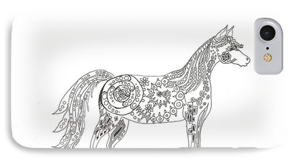 Horse  IPhone Case by Heather  Stirnweis