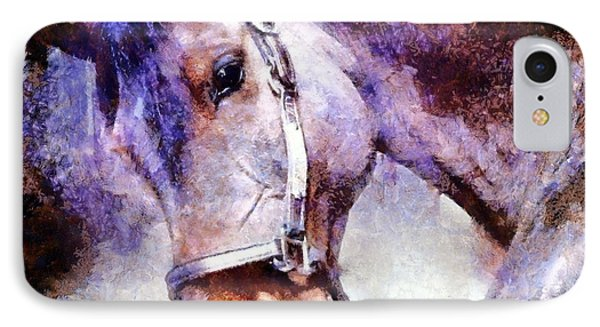 Horse I Will Follow You IPhone Case by Janine Riley
